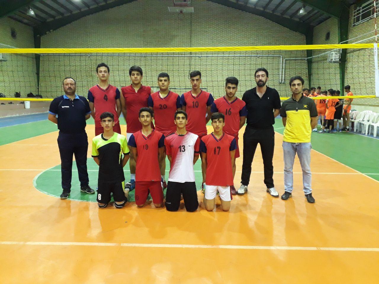 مسابقه جام رمضان به میزبانی لشت نشادردورده سنی نوجوانان
