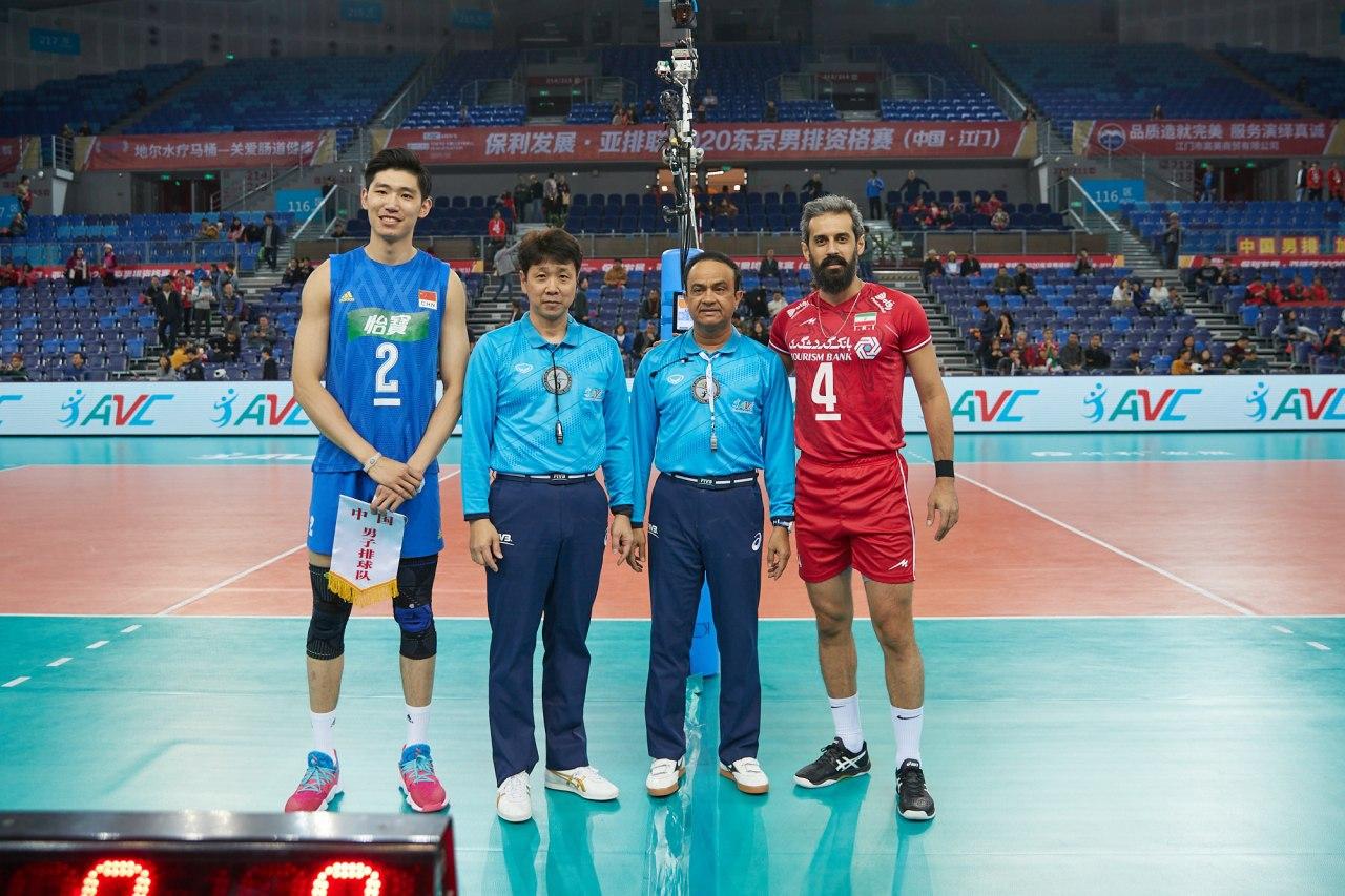 مسابقات والیبال انتخابی المپیک مردان قاره آسیا